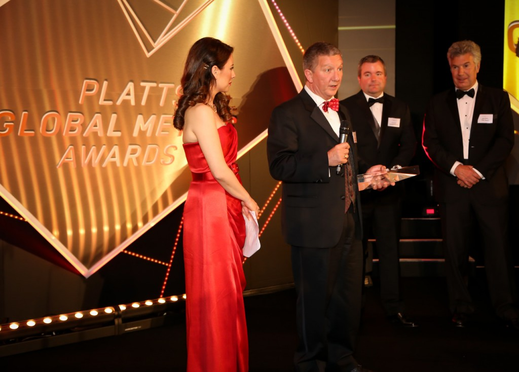 Platts GMA Rising Star Award - Steve Clarke, Will McDade, John Wirtz